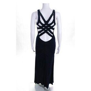 Sky Maxi dress dark blue